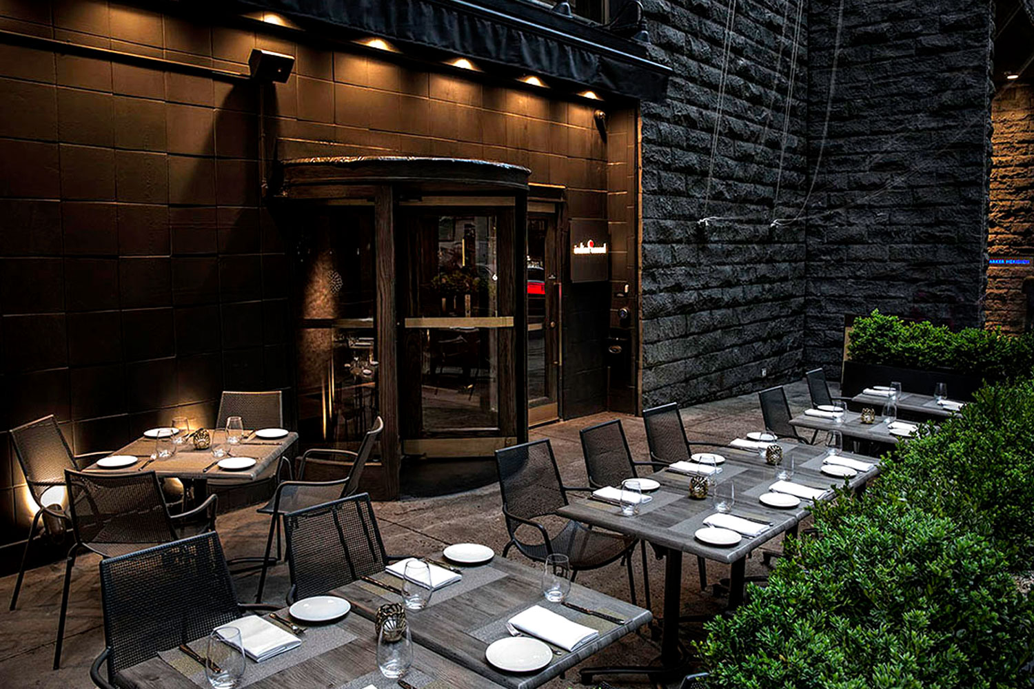 Indian accent inventive indian cuisine in new york for Top 10 new york interior designers